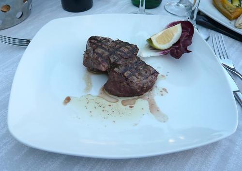 medium Rinderfilet vom Grill