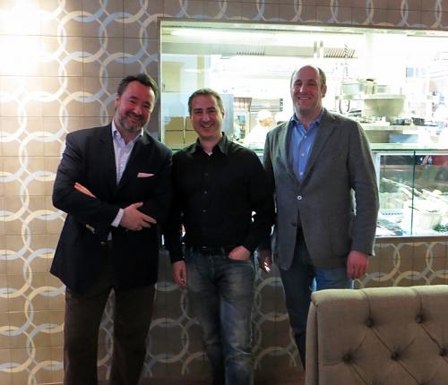 Stephan Kuffler, Maik Mohl (fastblogger) und Sebastian Kuffler