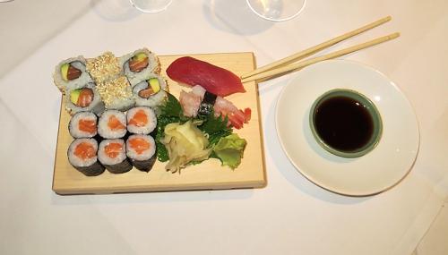 Sushi: Sashimi Variation