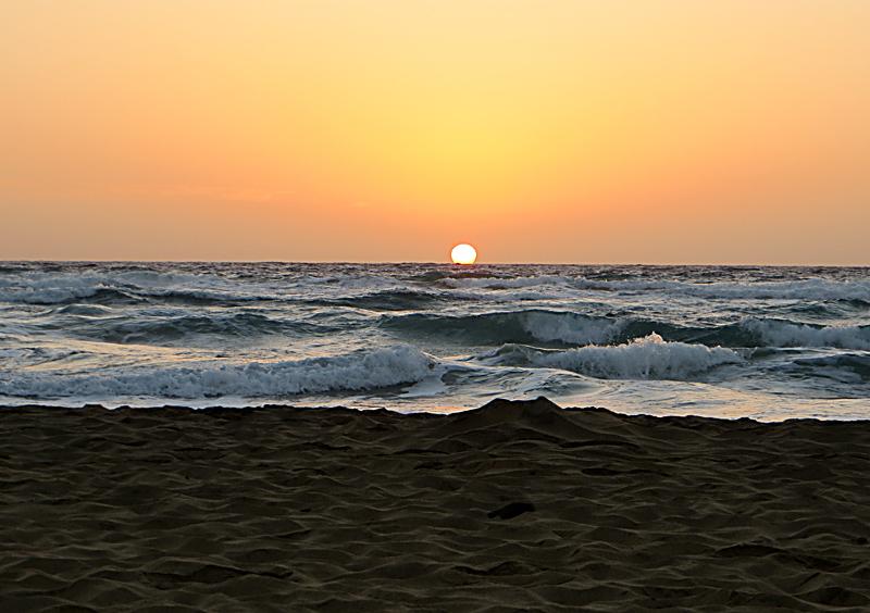 Sonnenuntergang himmelsrichtung