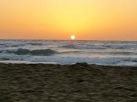 Sonnenaufgang Fuerteventura: aufgegangene Sonne um 7 Uhr 53