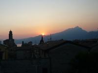 Sonnenuntergang Torri del Benaco