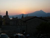 Sonnenuntergang Albisano