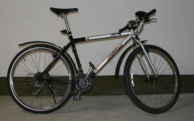 Fahrrad nach der Reparatur und schön geputzt